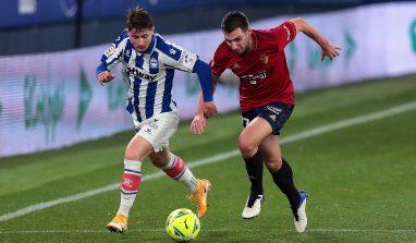 Osasuna-Alaves 1-1, solo un pareggio tra i due club: la classifica aggiornata della Liga