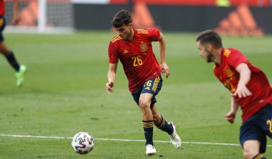 Pedri, il più giovane spagnolo di sempre a esordire in una competizione internazionale